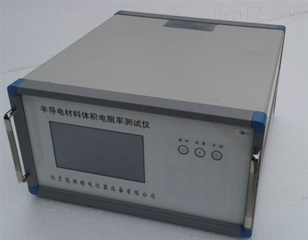 半导电橡塑材料体积电阻率试验仪