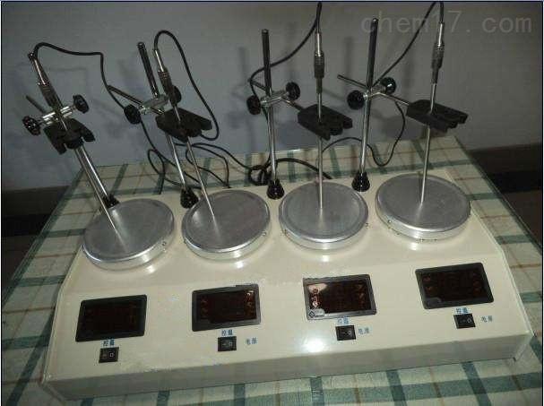 数显四联磁力搅拌器