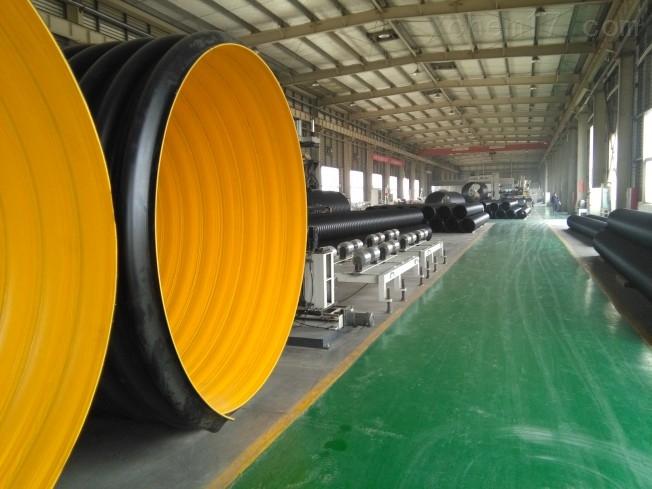 钢带排污管  HDPE地埋钢带波纹管