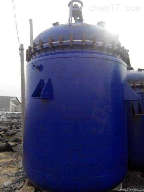 大量批发回收10立方8吨搪瓷反应釜