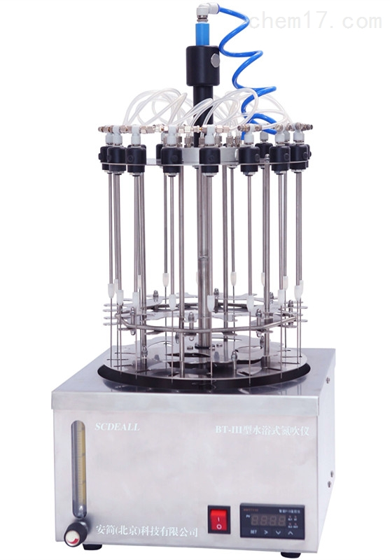 BT-III水浴式氮吹仪 BT-3能同时浓缩16样品