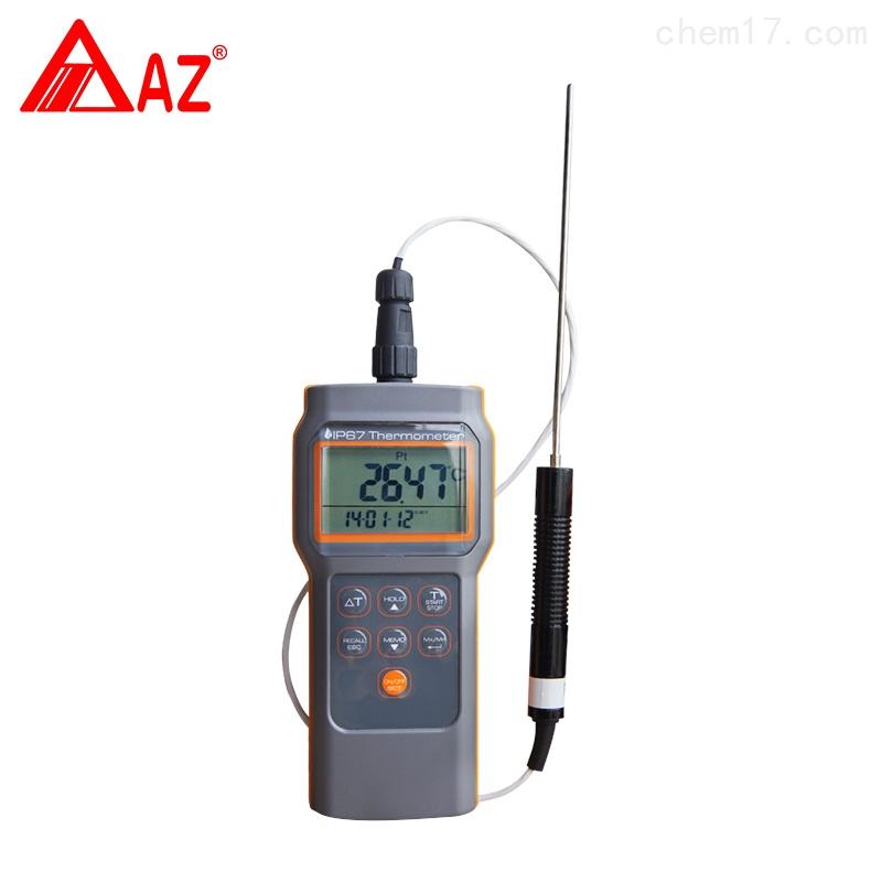 臺灣衡欣AZ8821高精度Pt100測棒溫度計