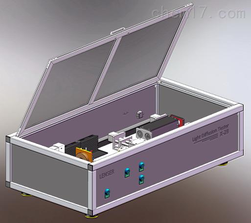 镜片散射光测试仪