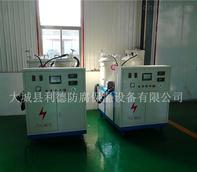 微型聚氨酯高压发泡机发泡原理