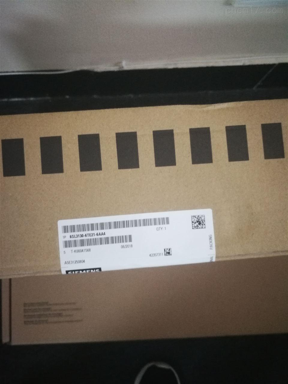 西门子数控备件6SL3120-1TE21-8AC0编程