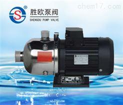 CHL臥式多級不銹鋼離心泵