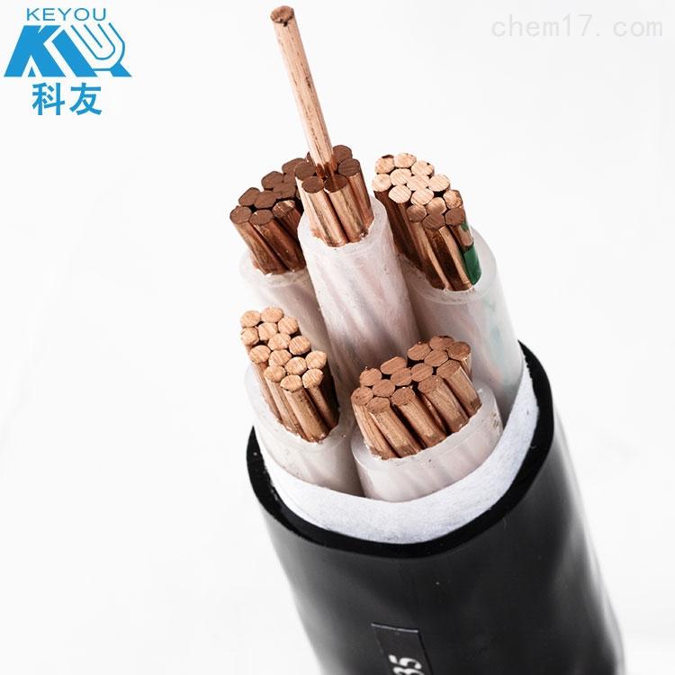 科讯线缆 钢带铠装电缆YJV22-4*95+1*50厂家直销 国标品质