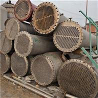 50平方低价处理二手50平方不锈钢列管冷凝器