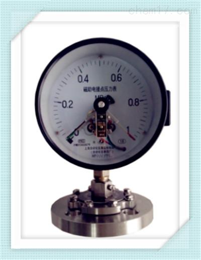 Y-150BF/Z/MF(316)316隔膜系列压力表