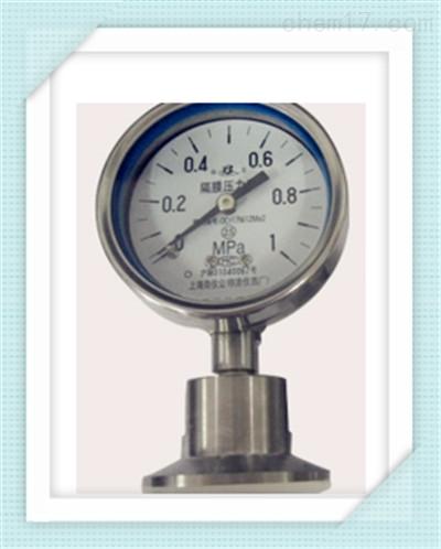 YE-60B-FZ/Z/ML(B)/316L隔膜压力表