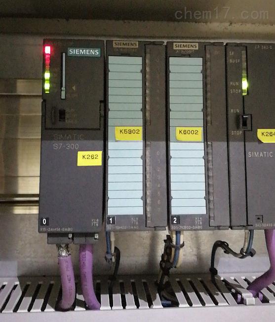 西门子CPU300模块常见故障SF灯亮修理
