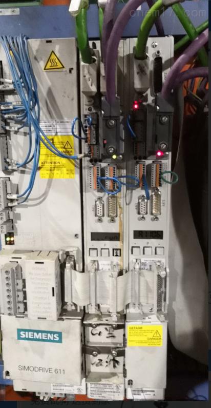 西门子802S轴驱动报警E-B608当天解决故障