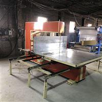 全自动岩棉保温板裁条机/数控岩棉板切割锯设备