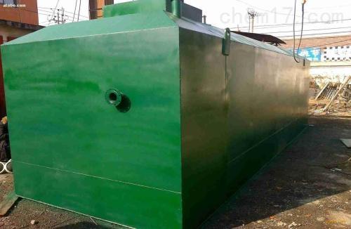 甘肃武威一体化污水处理设备厂家