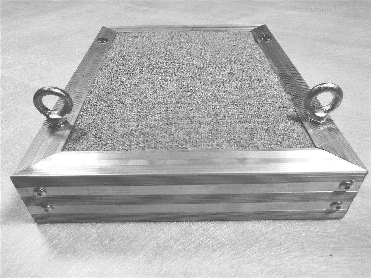 全屏复合铝框空间吸声体材料厂家