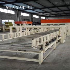 th001匀质板设备液压式水泥基模方式生产线等