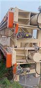 转让二手生活污水厂污泥处理压滤机