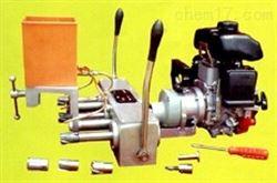 内燃钢轨三孔钻孔机