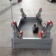 带轮子防滑2吨钢瓶电子秤