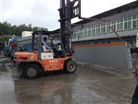SCS可装箱100吨出口式汽车磅秤