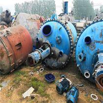 化工厂二手1吨搪瓷反应釜