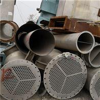 三效15吨二手三效15吨不锈钢强制蒸发器
