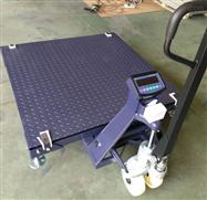 JH-SZ型电子叉车平台秤-移动叉车地磅秤