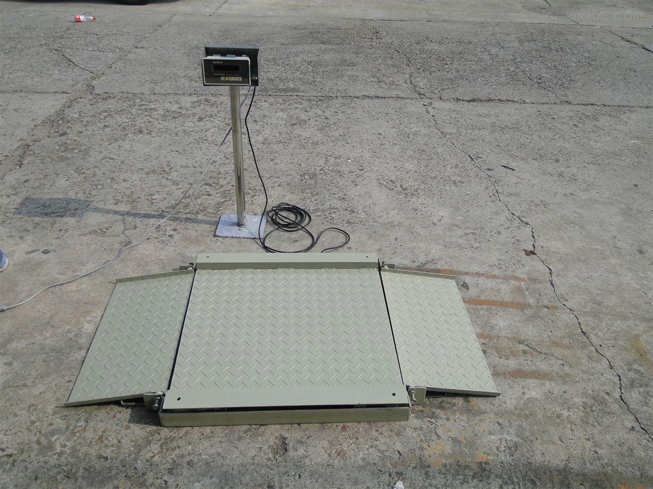 SCS-D1本安型防爆超低地磅-超低防爆平台称