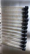 玻璃螺口試管(帶刻度螺紋蓋)