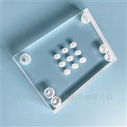 奇輝打孔石英玻璃片可加工定制