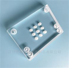 奇辉打孔石英玻璃片可加工定制