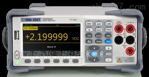 SDM3065X/SDM3065X-SC 6½位台式數字萬用表