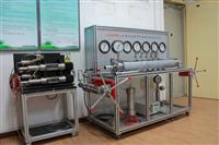 煤及岩層中汙染物遷移實驗裝置