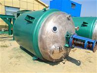 二手的6吨不锈钢反应釜出售