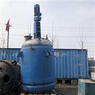 二手2吨不锈钢反应釜低价出售