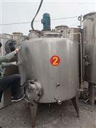 高价收购二手2吨乳品发酵罐