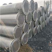 二手30平方不锈钢列管冷凝器大量出售