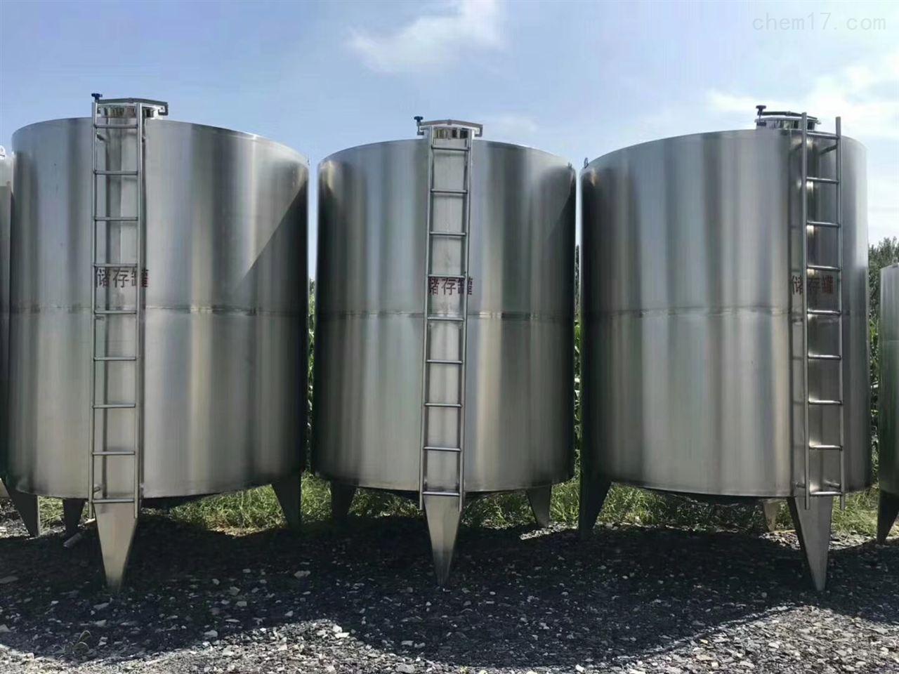 工廠大量求購60立方不鏽鋼牛奶儲罐 制冷罐