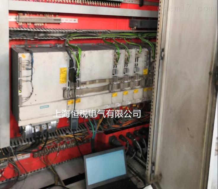 840D数控镗铣床报Y轴伺服故障诊断修理