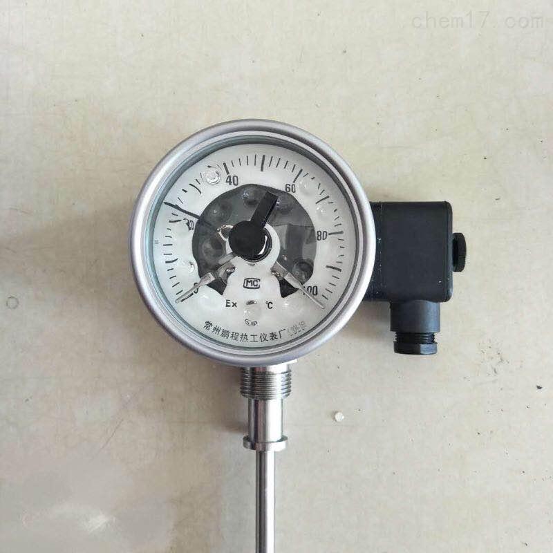 耐震双金属温度计/充油双金属