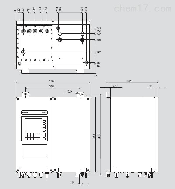 7MF4034-1BA00-2BB7CALOMAT6熱導式分析儀價格