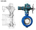 WSD941F-16瓦斯专用阀 WSD4F-Q型,DN500PN1.0