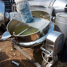 低價出售二手100L電加熱導熱油夾層鍋濟南