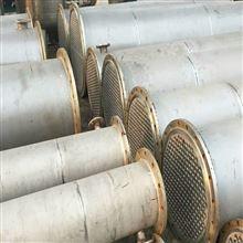 转让二手50平方全不锈钢列管式换热器济南