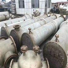 出售二手5平方全不锈钢列管式换热器上海