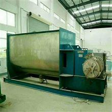 梁山二手3000公斤螺带混合机高价回收