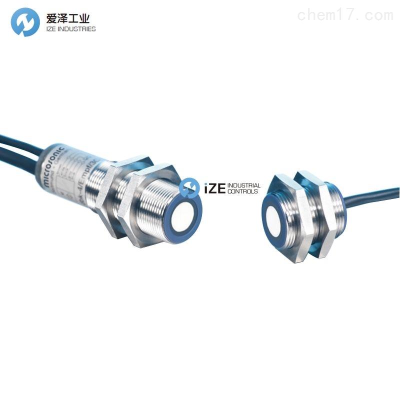 MICROSONIC传感器ESP-4/3CDD/M18 E+S
