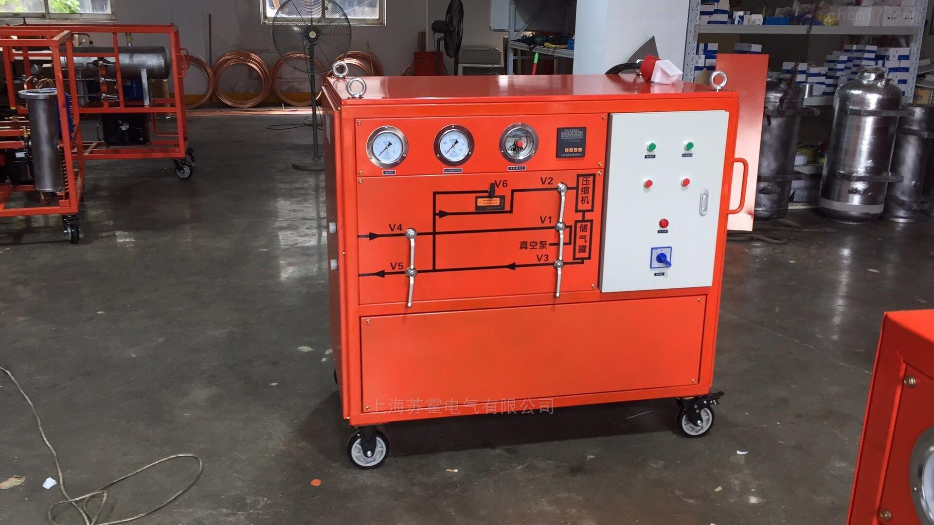 上海生产SF6气体回收装置报价