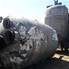 30立方蒸汽加热二手外盘管不锈钢反应釜