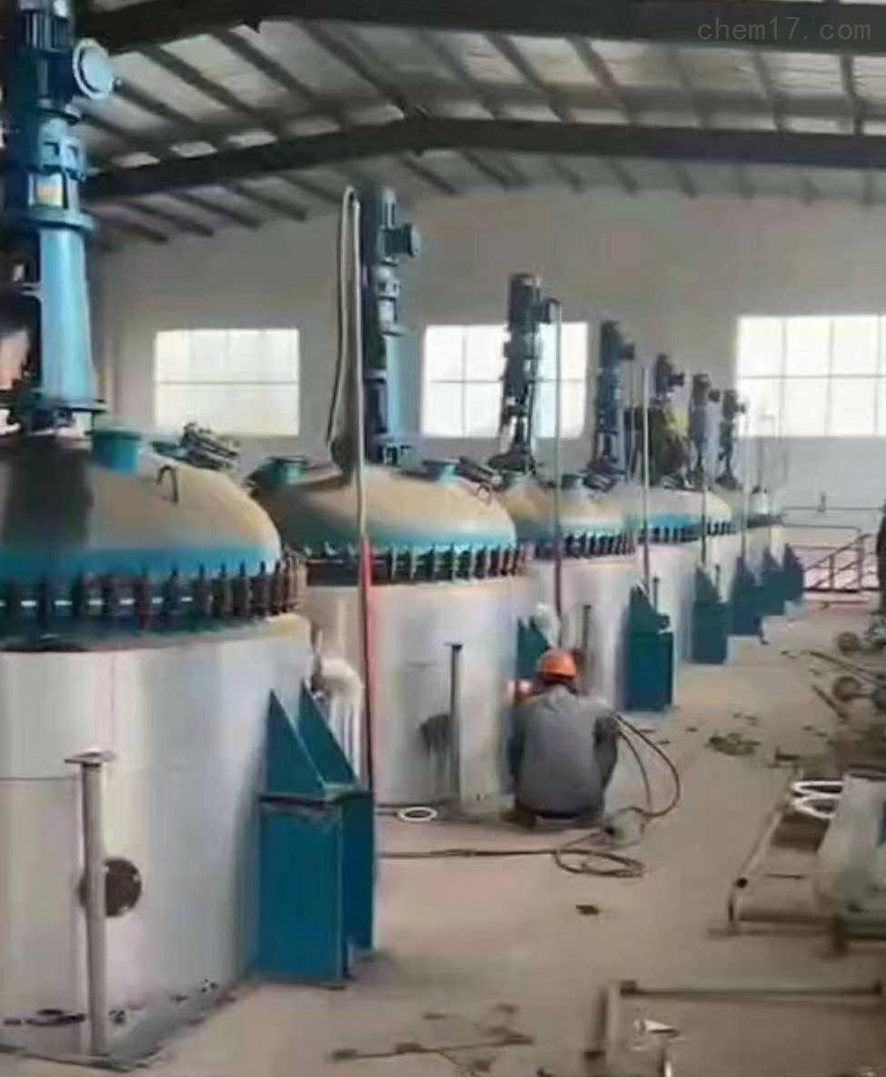12吨12000升二手搪瓷反应釜价格便宜